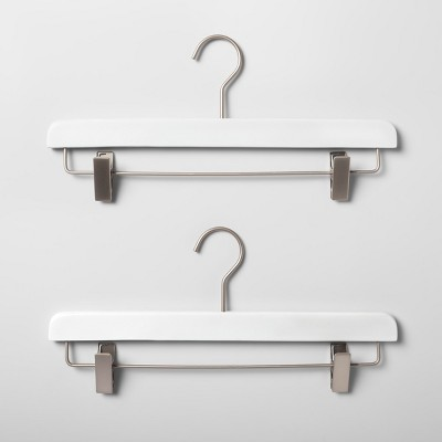 2pk Wood Pants Hanger White - Made By Design™