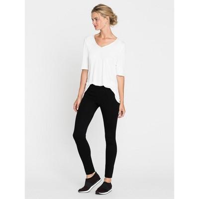 NIC+ZOE Women's Perfect Legging Full Black Onyx