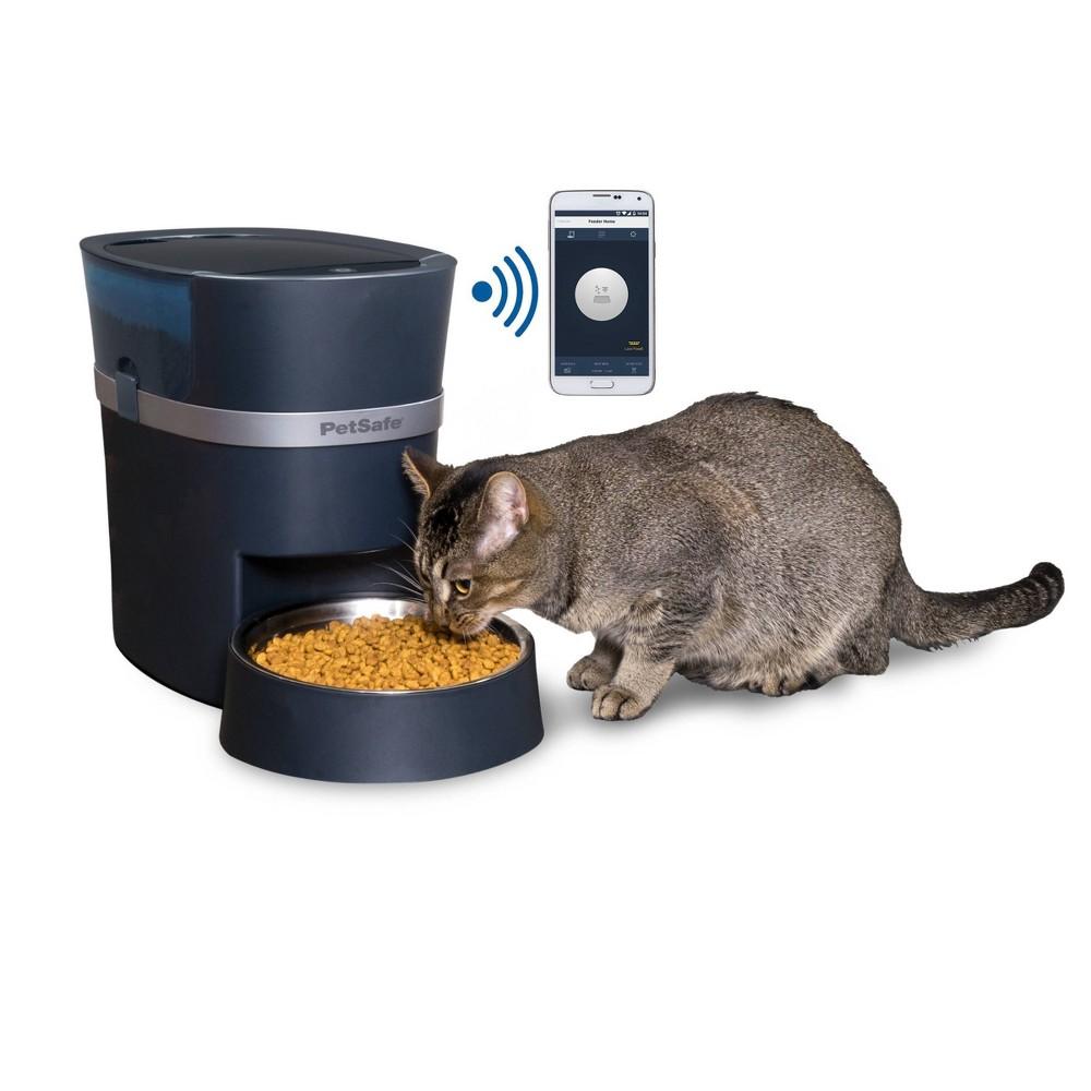PetSafe® Smart Feed 2nd Generation Automatic Cat & Dog Feeder in Dark Blue