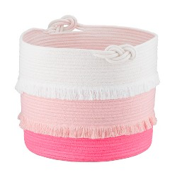Coil Rope Toy Storage Basket Pink - Pillowfort™