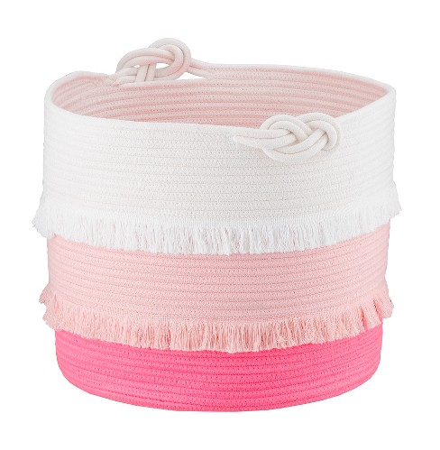 Coil Rope Basket (Large) Pink - Pillowfort™ - image 1 of 4