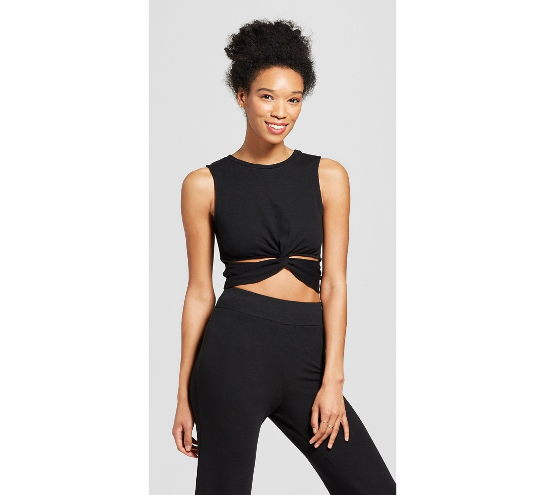 Women's Cut-Out Twist Front Tank - Mossimo Supply Co.™