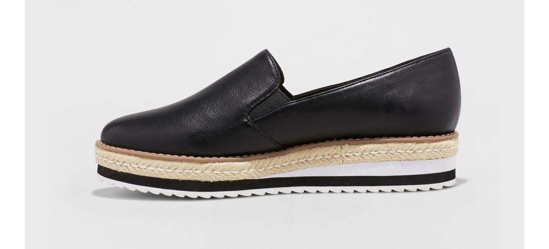 Women's Devina Hybrid Slip on Loafer - A New Day™ Black