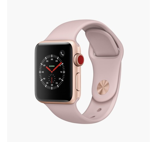 Apple® Watch Series 3 38mm (GPS + Cellular) Aluminum Case Sport Band