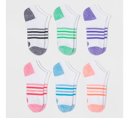 Women's No-Show Socks 6pk - C9 Champion®