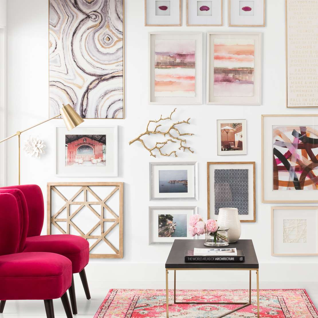 gallery wall ideas. Gallery Wall Ideas   Target