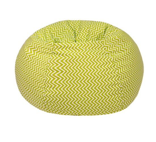Cosmo ZigZag Print Bean Bag Chartreuse (Small/Toddler) - Gold Medal