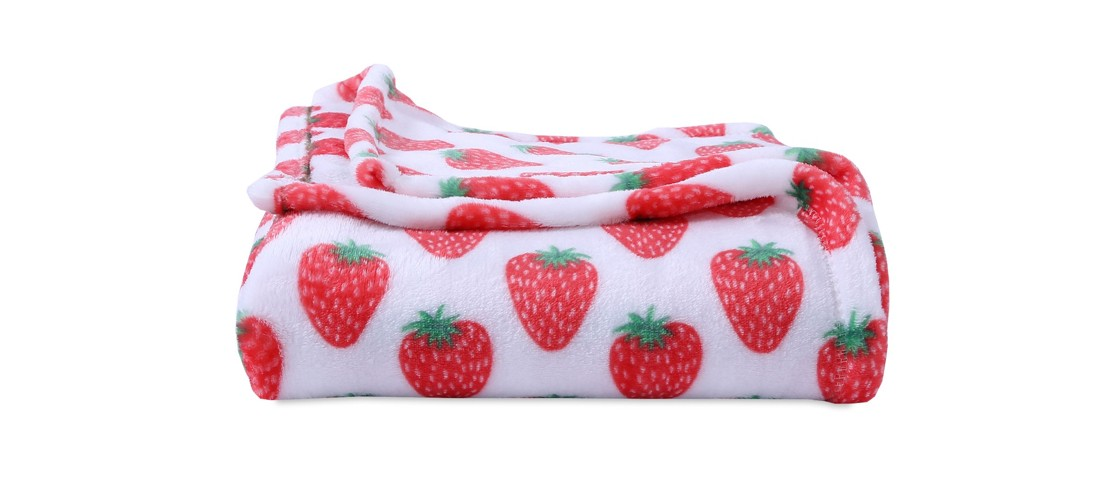 Throw Blankets White And Red (50