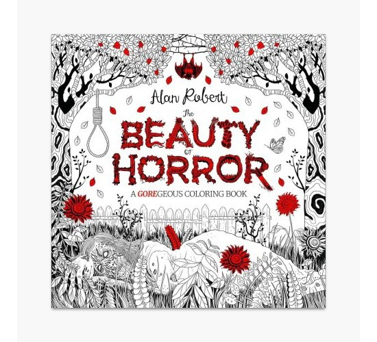 Beauty of Horror : A Goregeous Coloring Book
