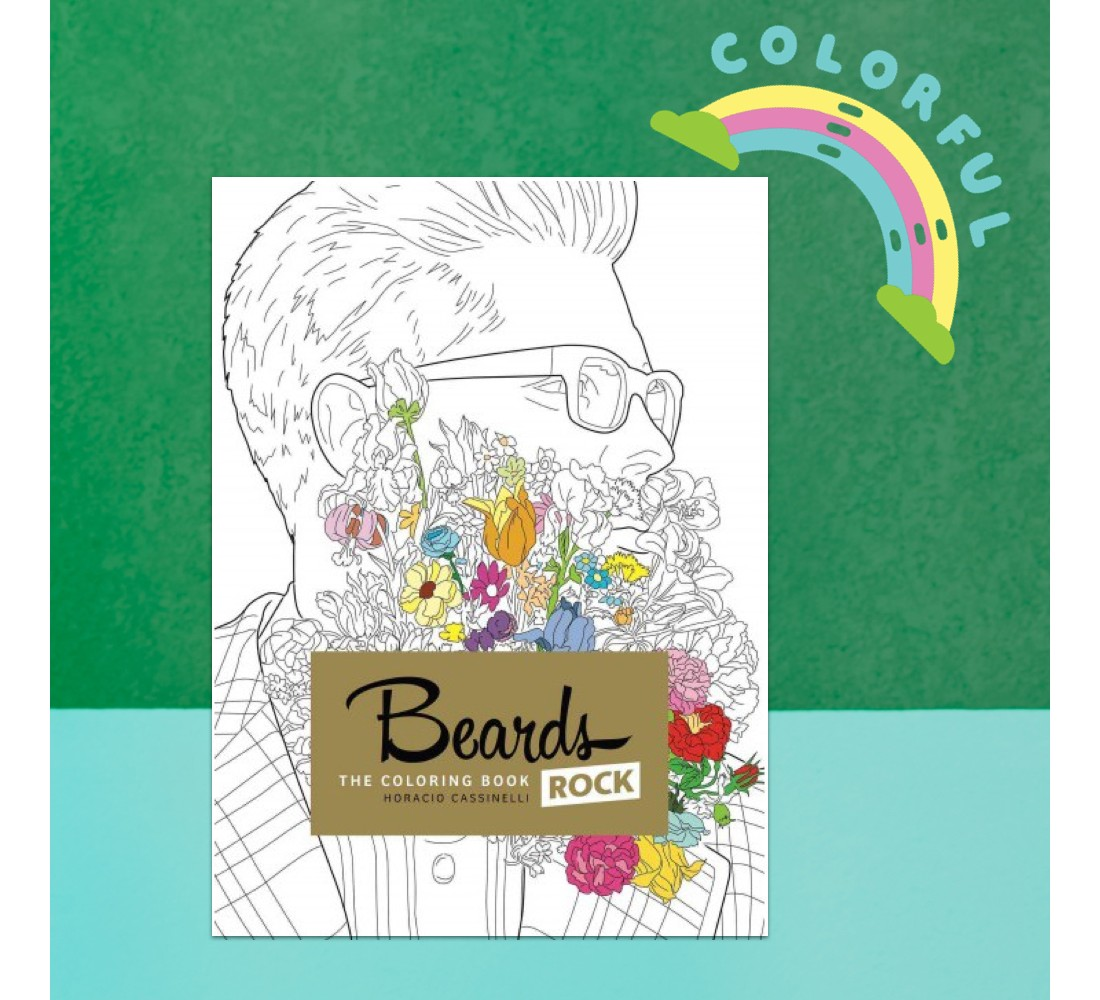 Beards Rock The Coloring Book