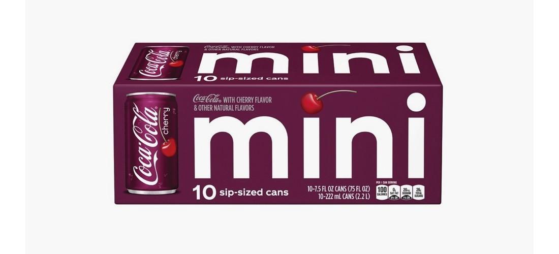 Coca-Cola Cherry - 10pk/7.5 fl oz Mini-Cans