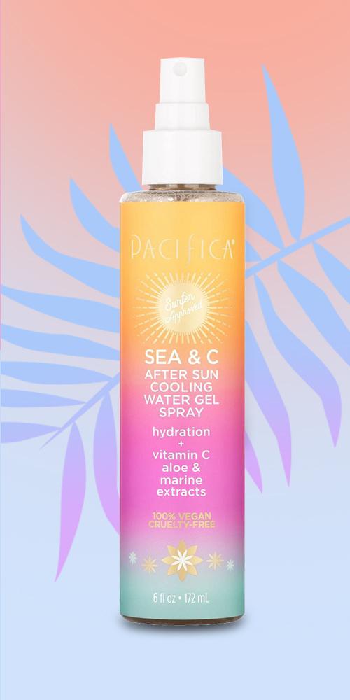 Pacifica Sea & C After Sun Cooling Gel Spray - 6 fl oz