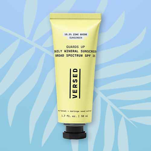 Versed Guards Up Daily Mineral Sunscreen Broad Spectrum - SPF 35 - 1.7 fl oz