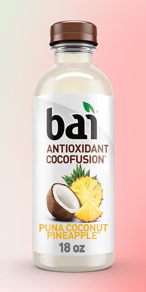 Bai Puna Coconut Pineapple Antioxidant Water - 18 fl oz Bottle