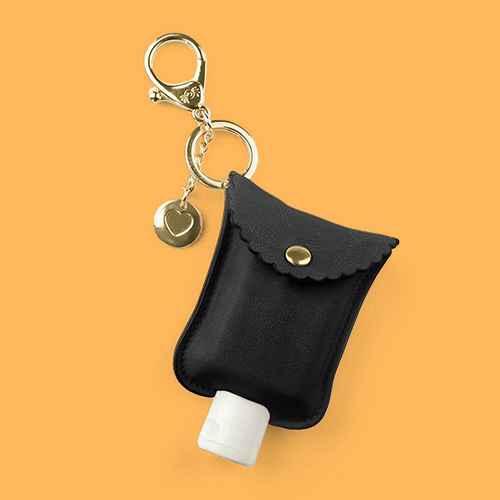 Itzy Ritzy Cute'N Clean Hand Sanitizer Charm - Black