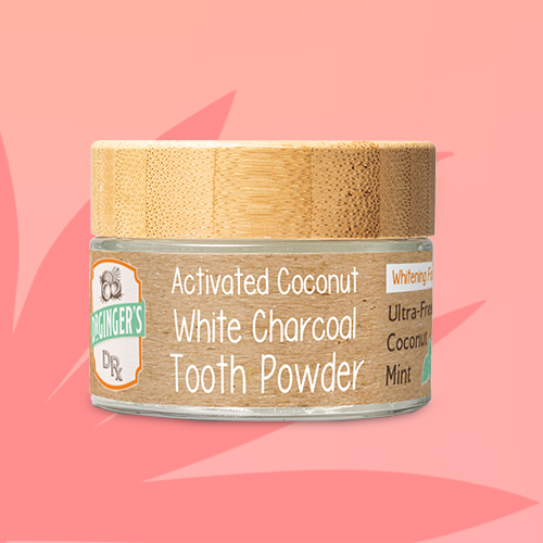 Dr. Ginger's White Tooth Powder Charcoal - 1.28oz