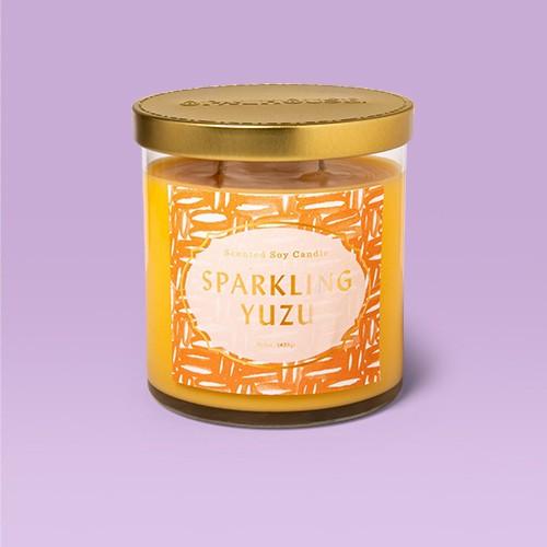 15.1oz Glass Jar 2-Wick Candle Sparkling Yuzu - Opalhouse™