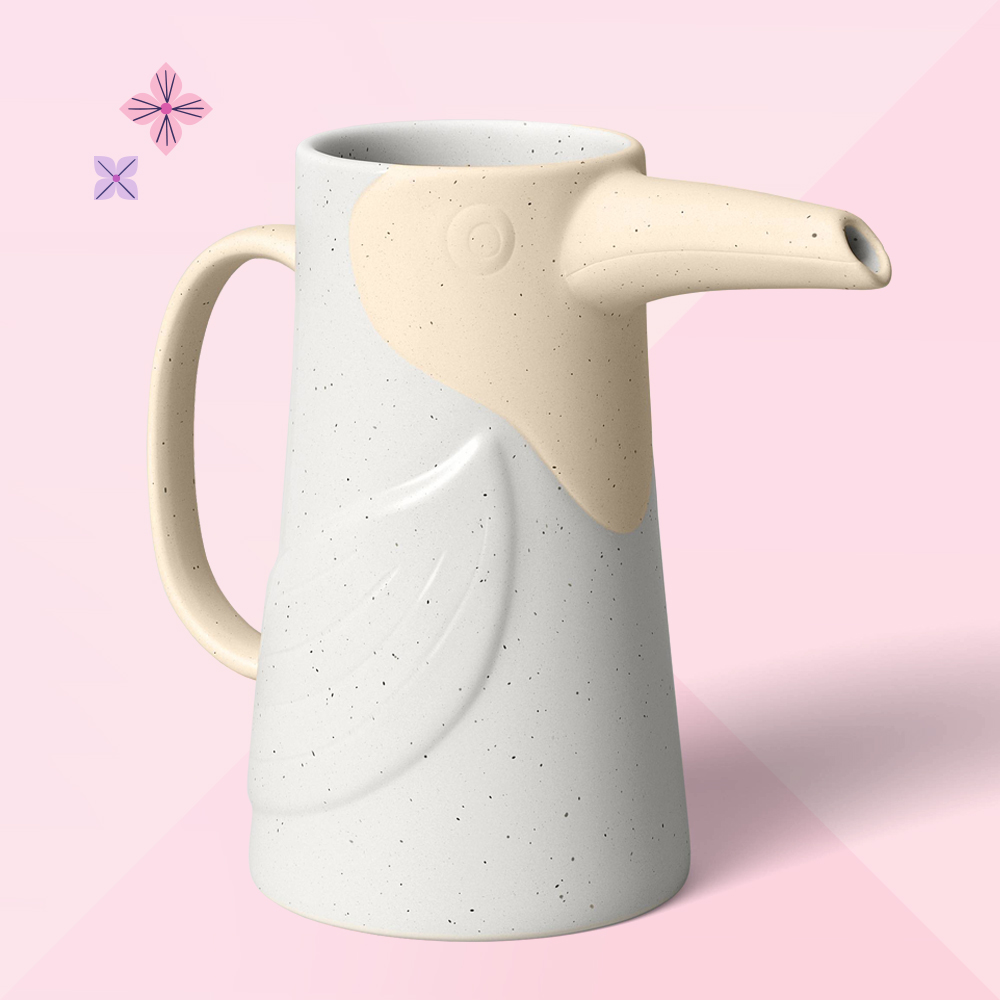 Ceramic Bird Watering Can - Opalhouse™