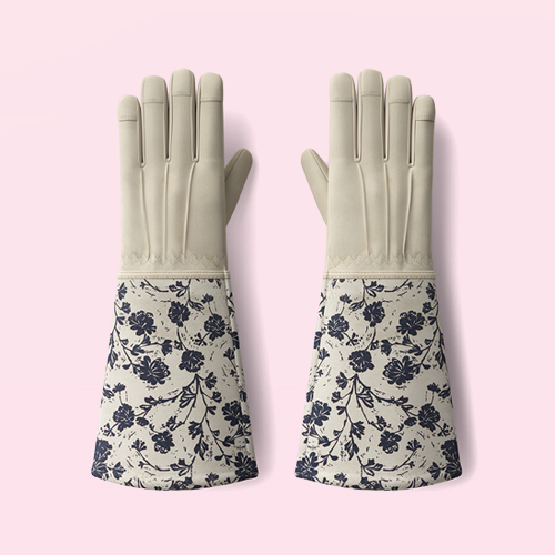 Roepickers Work Gloves Blue Floral - Smith & Hawken™