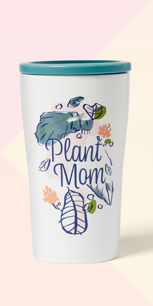 10oz Stoneware Plant Mom Tumbler with Lid - Opalhouse™