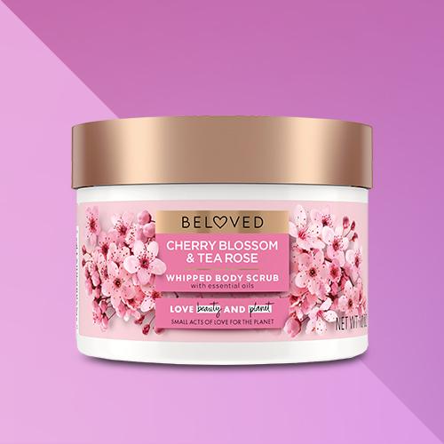 Beloved Cherry Blossom & Tea Rose Body Scrub - 10oz