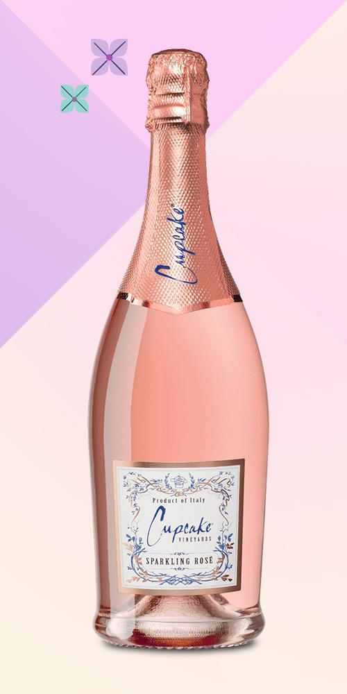 Cupcake Sparkling Rosé Wine - 750ml Bottle