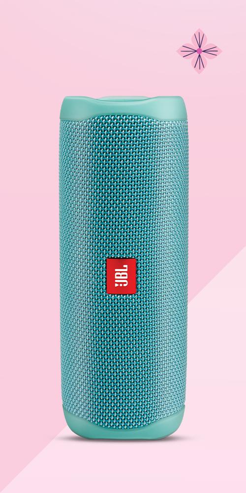 JBL Portable Waterproof Speaker Flip 5 - Teal