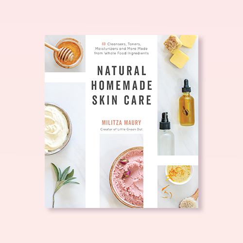 Natural Homemade Skin Care - by Militza Maury (Paperback)