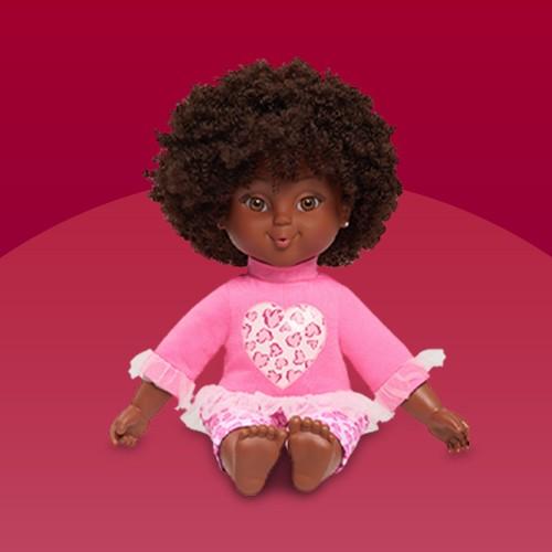 "Positively Perfect 14"" Kiara Toddler Doll, Positively Perfect 14"" Aaliyah Toddler Doll, Positively Perfect 14"" Ava Toddler Doll, Positively Perfect 14"" Stella Toddler Doll, Positively Perfect 14"" Bailey Toddler Doll"