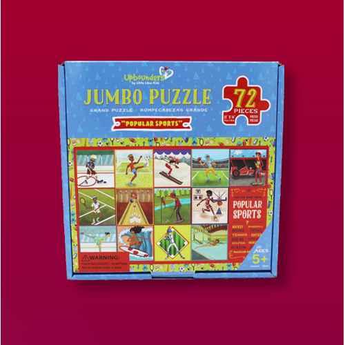 Little Likes Kids Popular Sports Kids' Jumbo Jigsaw Puzzle - 72pc, Little Likes Kids Splash Park Kids' Jumbo Jigsaw Puzzle - 72pc