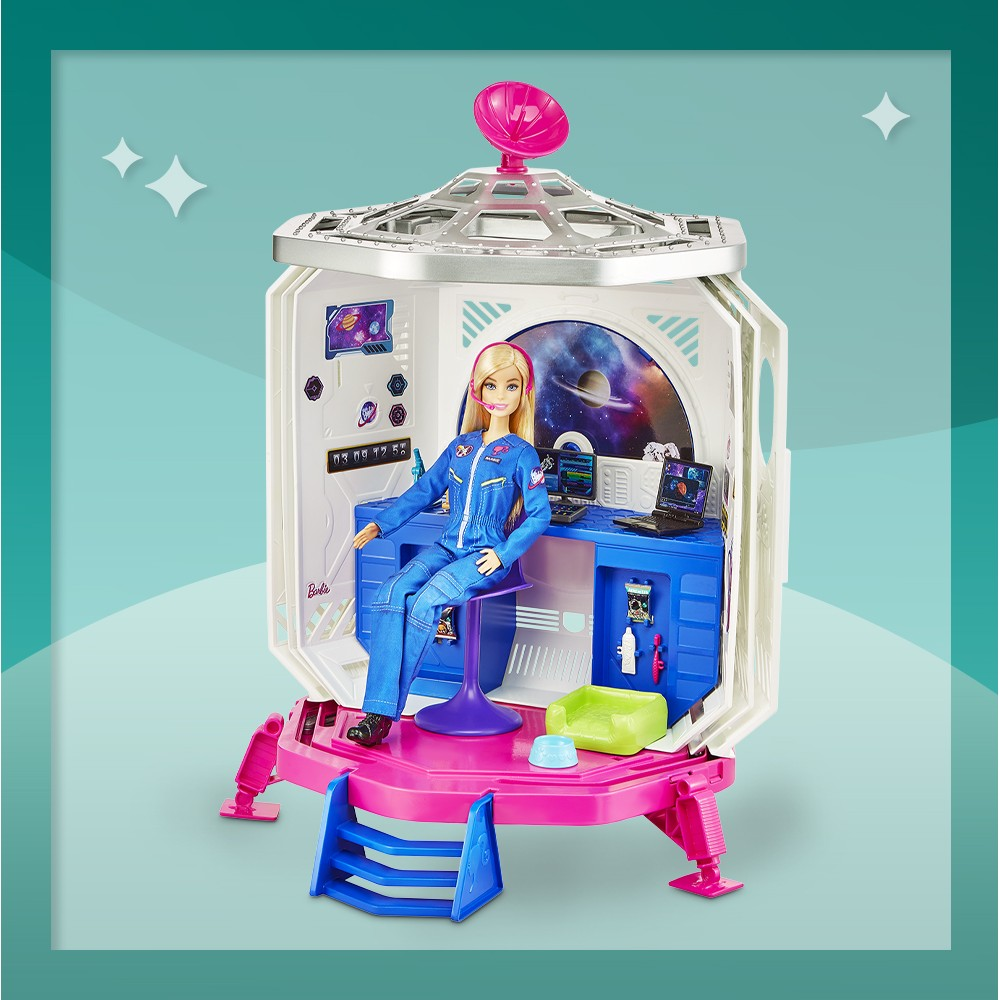 Barbie Space Discovery Playset, Barbie Space Discovery Chelsea Doll & Rocketship-themed Playset, Barbie Space Discovery Stacie Doll & Bedroom Playset, Barbie Space Discovery Stacie Doll & Accessories, Barbie Careers Space Discovery Dolls & Science Classroom Playset, Barbie Space Discovery Skipper Doll & Accessories
