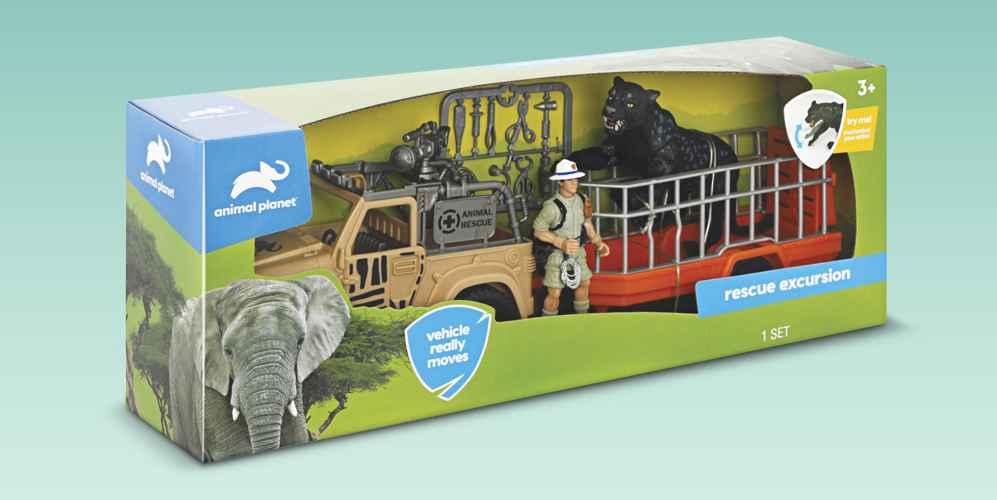 Animal Planet Rescue Excursion Safari Playset