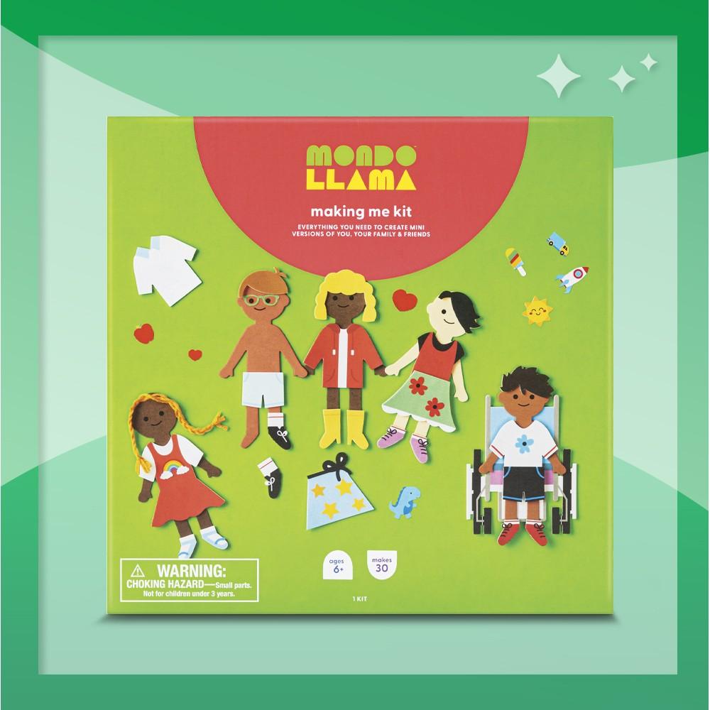 Making Me Craft Kit - Mondo Llama™, Create-Your-Own Superhero Comic Books Kit - Mondo Llama™, Color-Your-Own Superhero Cape & Accessories Kit - Mondo Llama™
