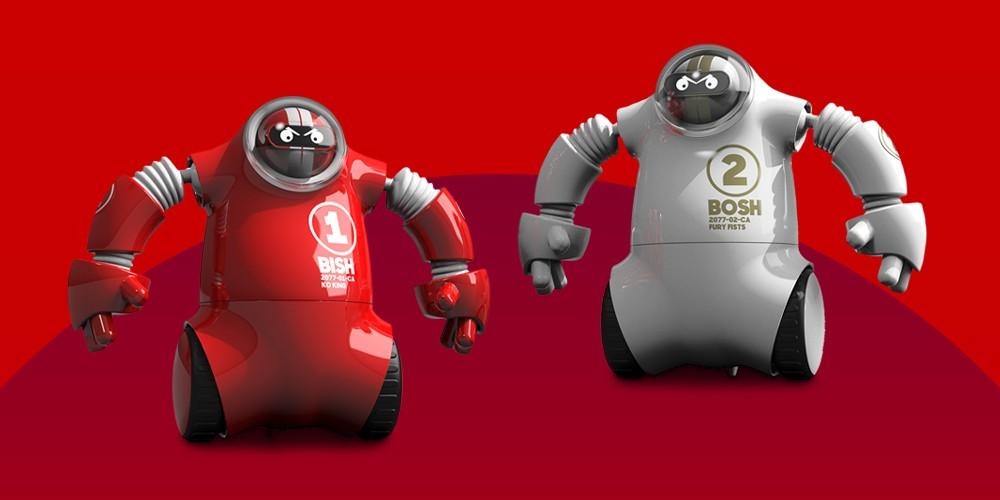 FAO Schwarz Robo Rage RC Robot Boxer Set