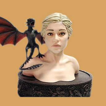Game Of Thrones Daenerys Bust