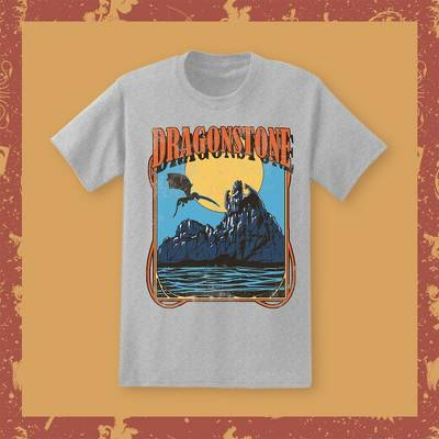 Men's Game of Thrones Dragonstone Short Sleeve Graphic T-Shirt Gray