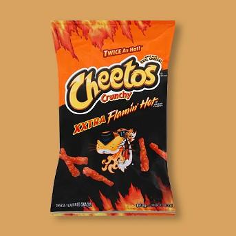 Cheetos Crunchy Xxtra Flamin' Hot - 3.75oz