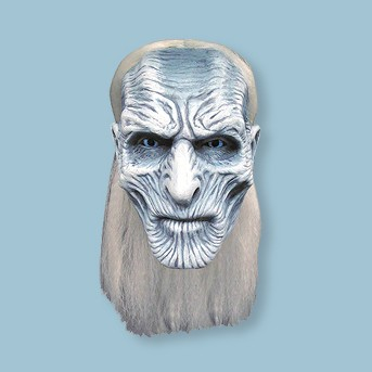 Halloween Game of Thrones: White Walker Mask - One Size