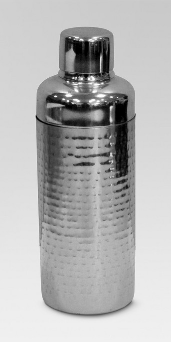 Stainless Steel Hammered Cocktail Shaker - Threshold™