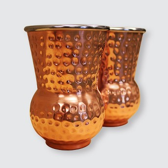 Epicureanist 2pk Copper Whiskey Tumblers