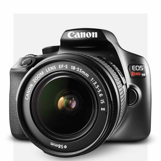 Save $200 on Canon EOS Rebel T6 bundle