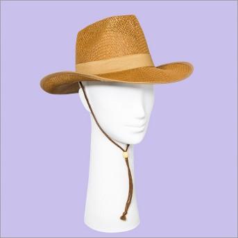 Women's Panama Hat - Universal Thread™ Brown