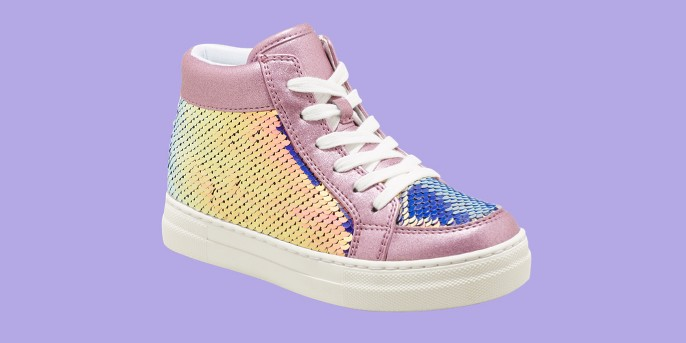 Girls' Yesenia Flip Sequins Sneakers - Cat & Jack™ Purple