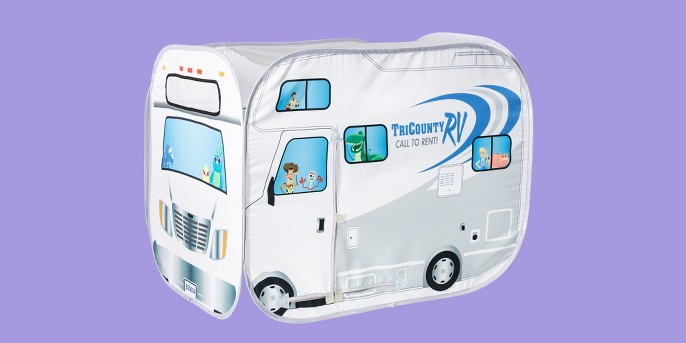 Toy Story Twin RV Tent Gray
