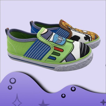 Toddler Boys' Toy Story Sneakers - Blue