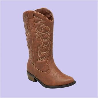 Girls' Meadow Western Boot Cat & Jack™ Brown