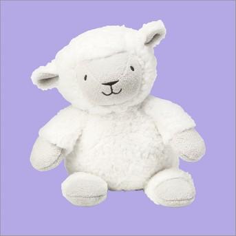 Plush Lamb - Cloud Island™ White