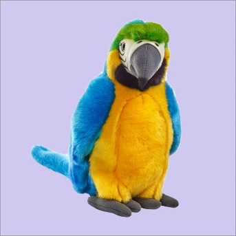 Lelly National Geographic Tropical Parrot - Yellow