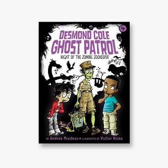 Night of the Zombie Zookeeper -  (Desmond Cole Ghost Patrol) by Andres Miedoso (Paperback)
