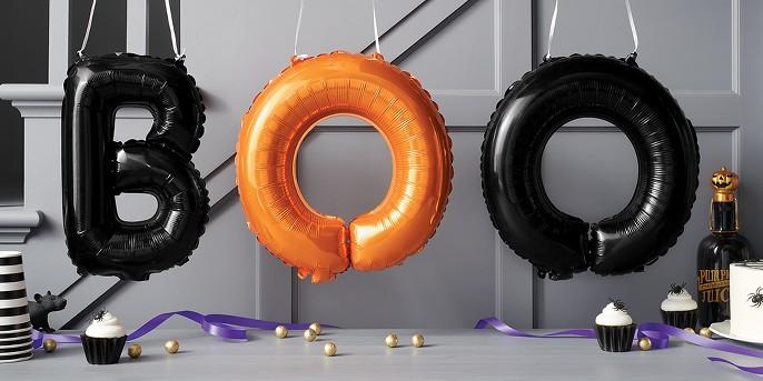 Halloween BOO Banner Balloon - Hyde and Eek! Boutique™